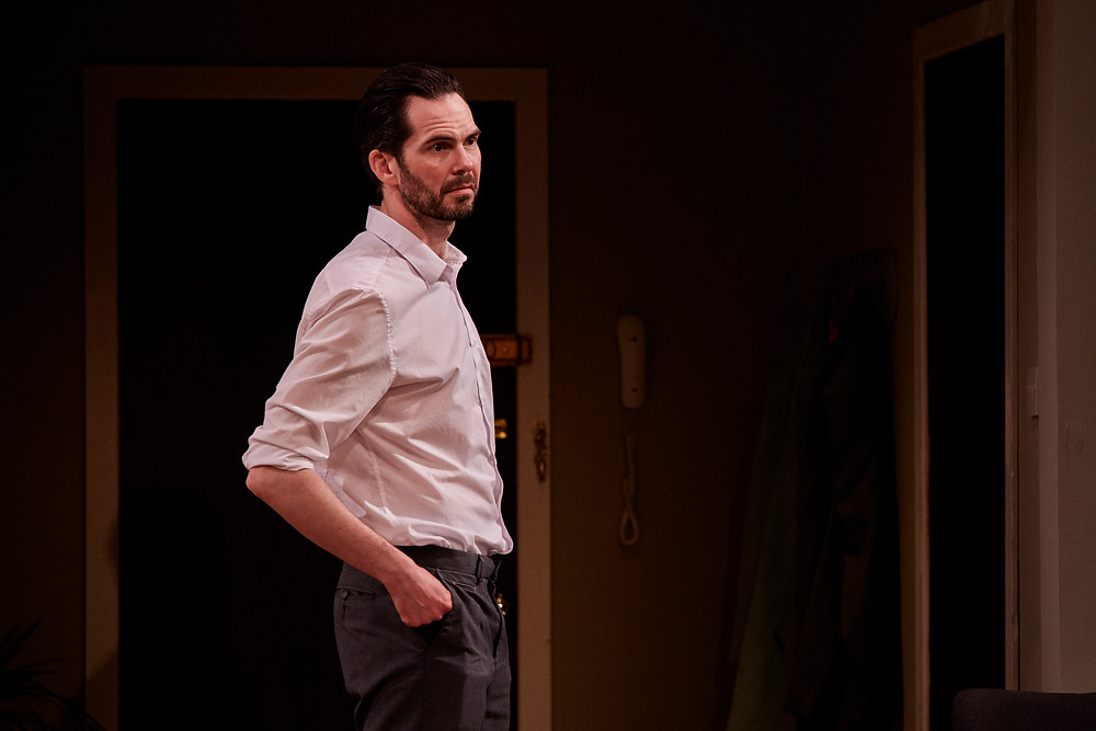 Marty Rea in the Gate Theatre production of 'Beginning' by David Eldridge. Photograph by Ros Kavanagh