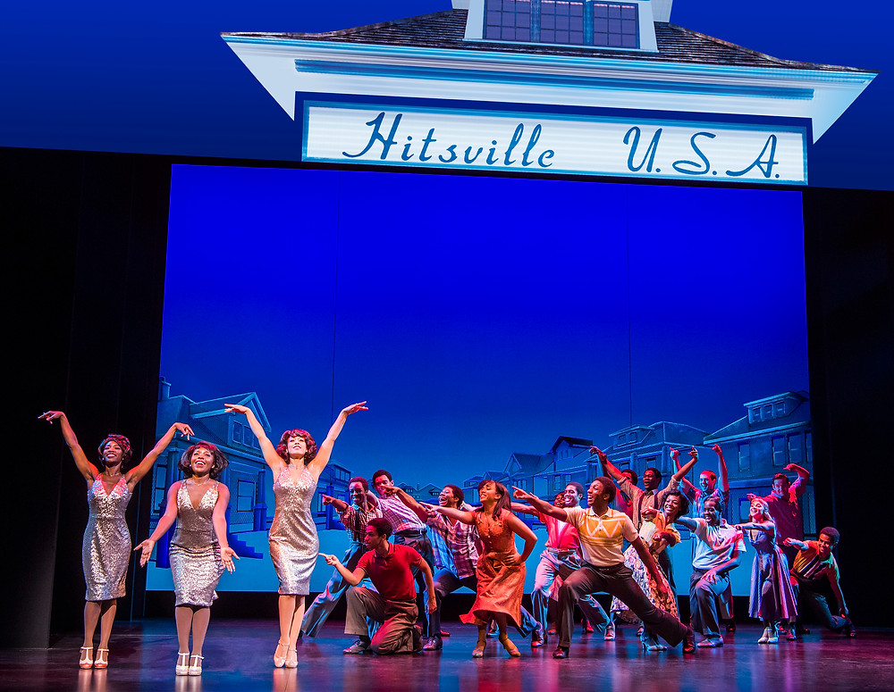 MOTOWN THE MUSICAL. The Company. Photo Tristram Kenton.