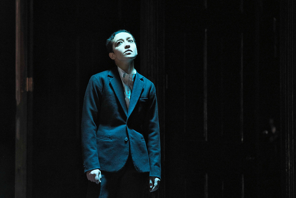 Ruth Negga in Hamlet. Image by Ros Kavanagh