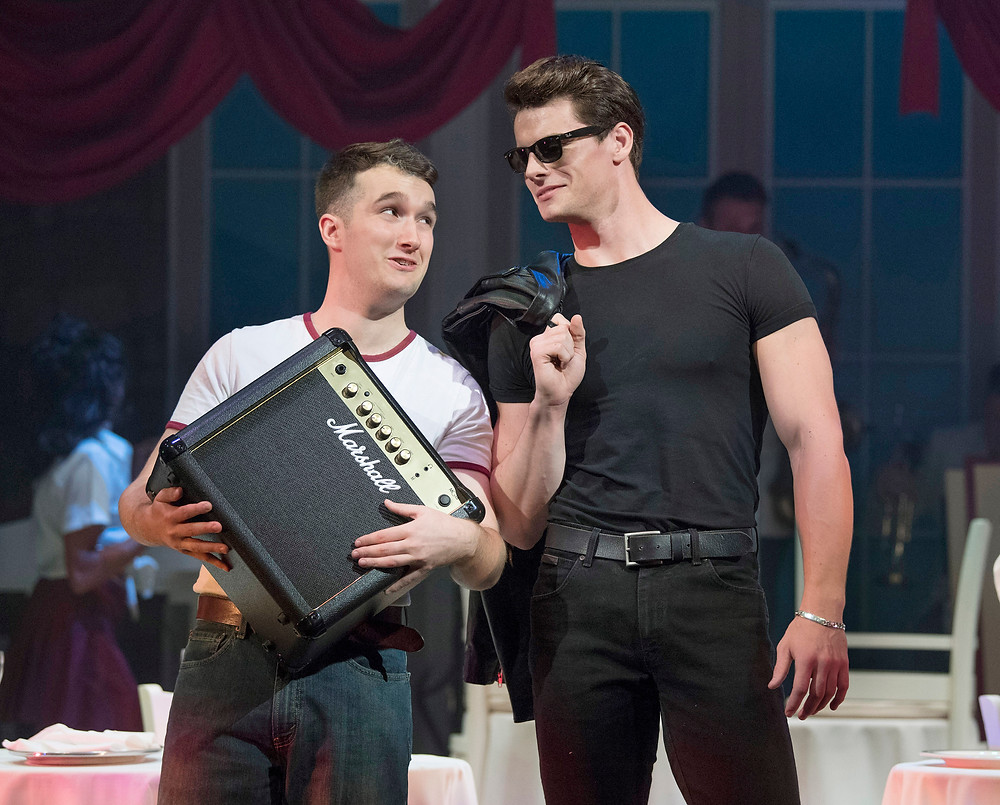Alex Wheller and Michael O'Reilly in Dirty Dancing - The Classic Story On Stage. Image by Alastair Muir