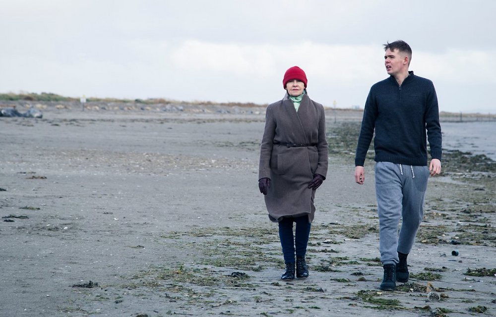 Ann Russell and Killian Filan in The Tide. Image  by Al Craig.