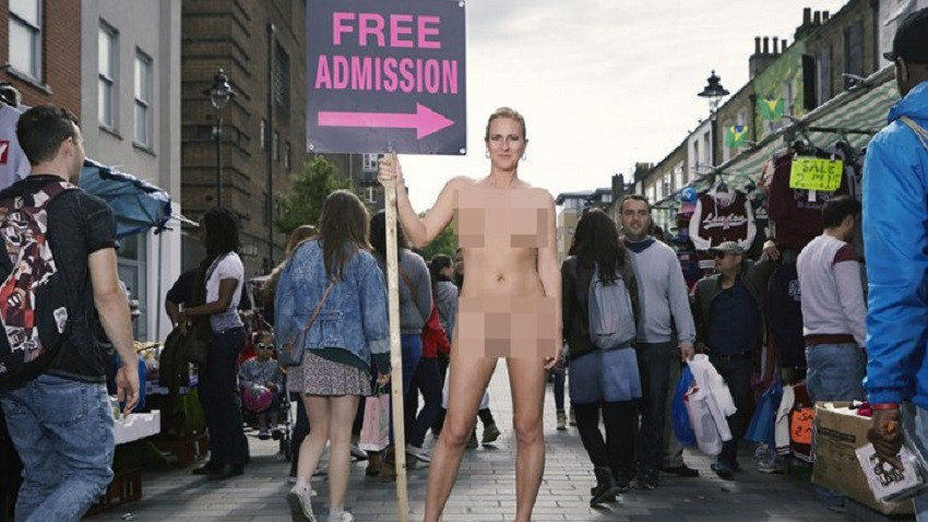 Free Admission by Ursula Martinez. Photo uncredited
