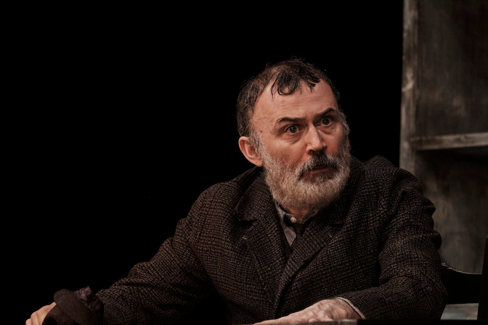 Tommy Tiernan as Thomasheen Sean Rua in Druid's production of Sive by John B Keane at the Gaiety Theatre. Image Ros Kavanagh