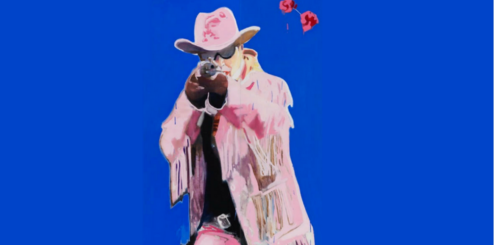 The Misfits. Photo © Trish Wylie from the painting 'Bang Bang Roses'