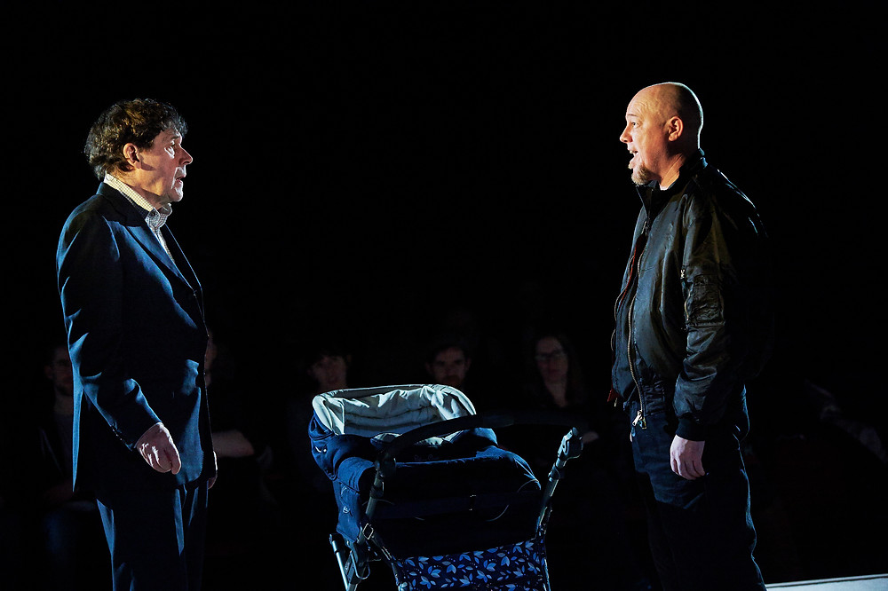 Stephen Rea and Chris Corrigan in Cyprus Avenue. Photo by Ros Kavanagh