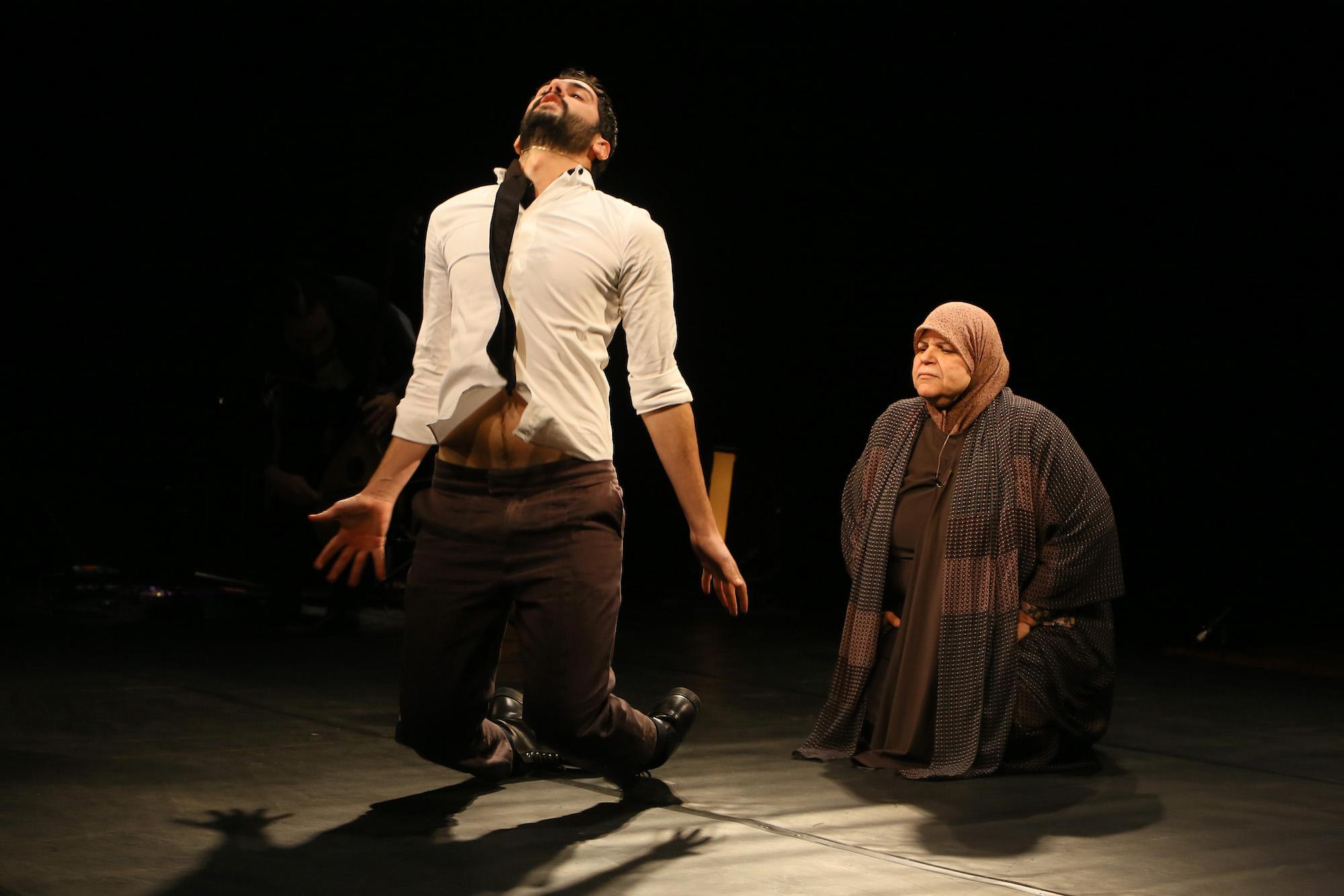 Ali Chahrour-Leila's Death. Photo by Dominique Houcmant