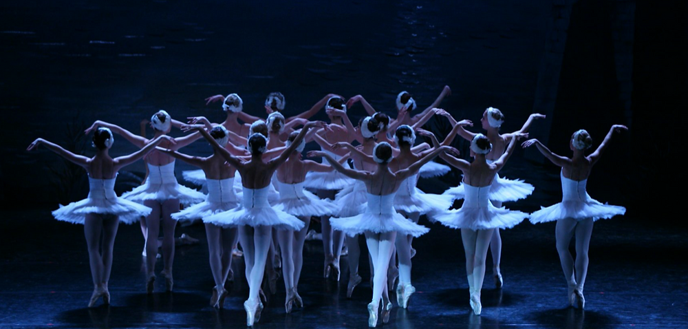 Moscow City Ballet's Swan Lake. Image uncredited.