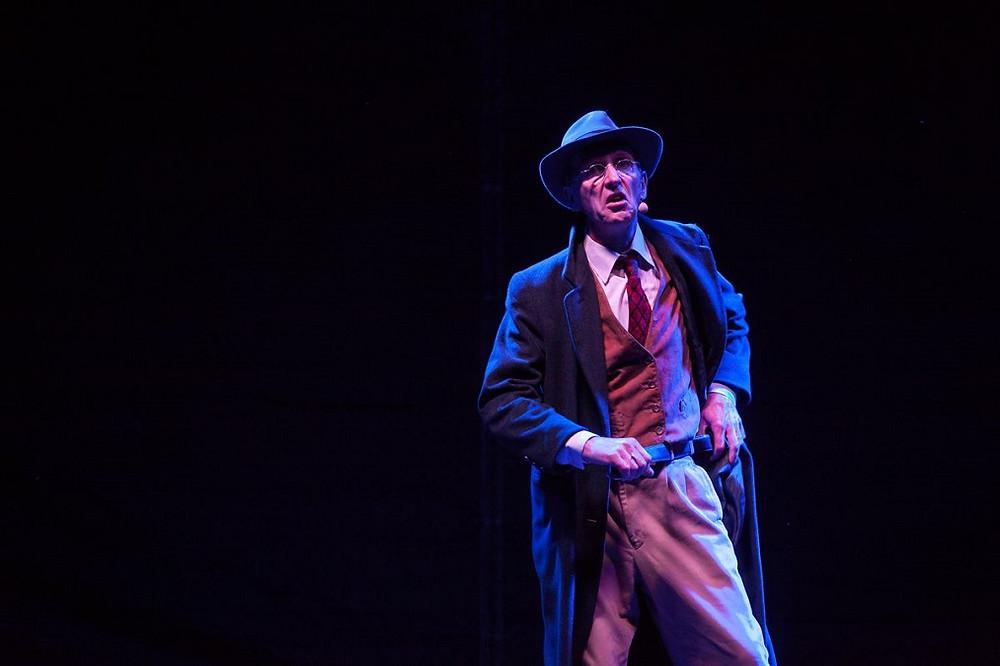 Declan Gorman in The Dubliners Dilemma. Photo by Bern Deegan