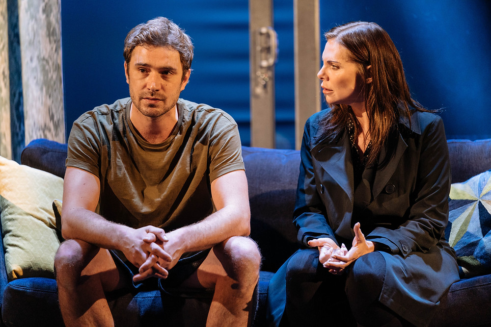 The Girl on the Train with Oliver Farnworth and Samantha Womack Photo by Manuel Harlan