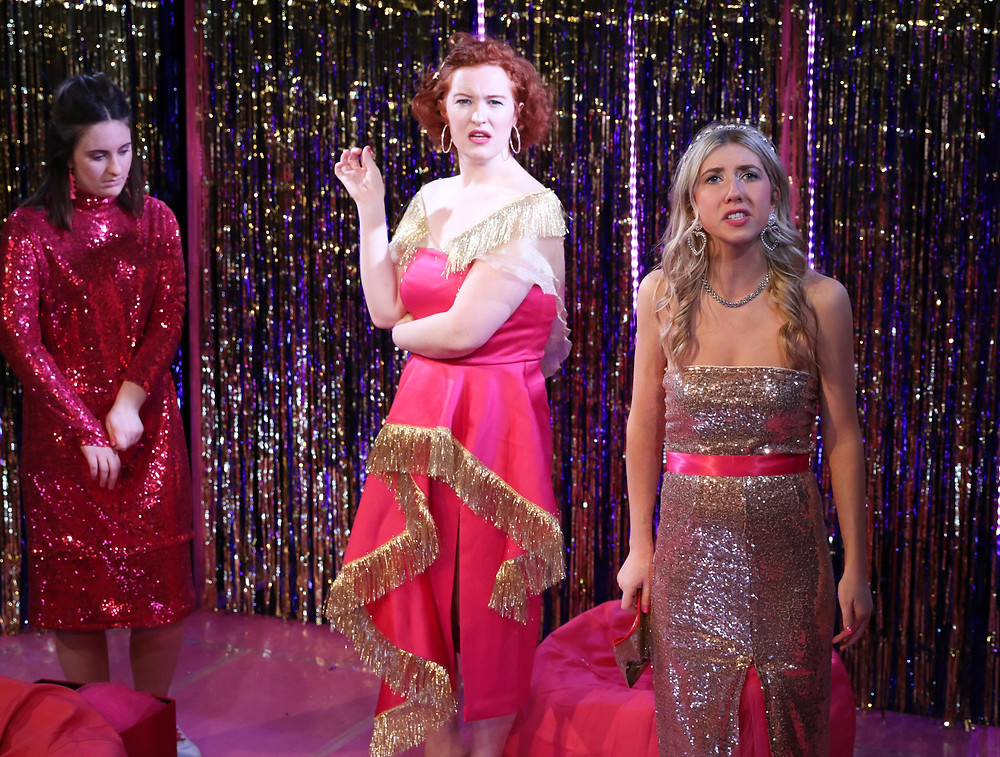 Sarah Foley, Maddi O'Carroll and Ali Hardiman in Disconnected. Image uncredited