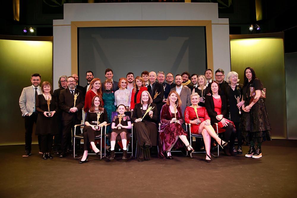 Irish Times Irish Theatre Awards 2017. Photo credit The Irish Times