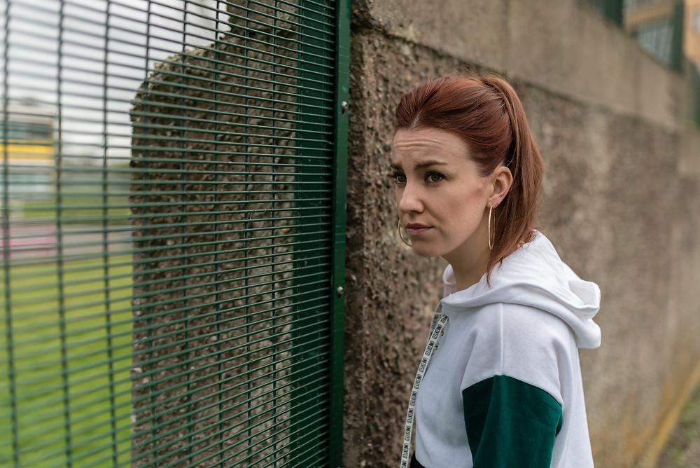 Clare Monnelly in Charlie's a Clepto. Image by Babs Daly
