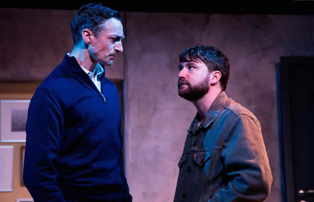 Marcus Lamb and John Norton in The Harvest. Image Al Craig