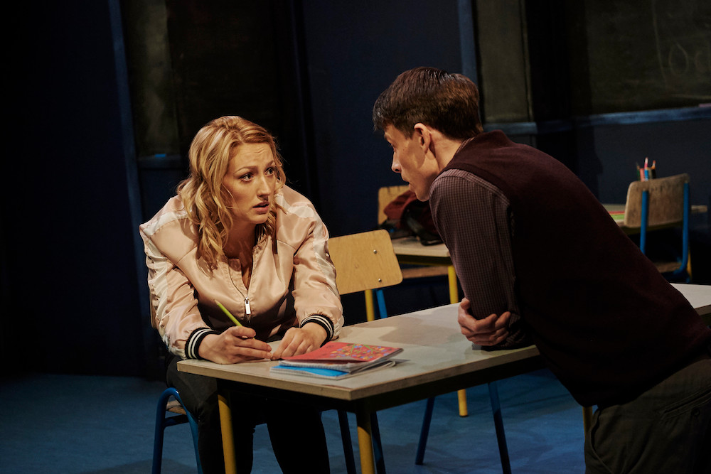 Sarah Morris and Will O'Connell in Class by Iseult Golden and David Horan. Image by Ros Kavanagh.