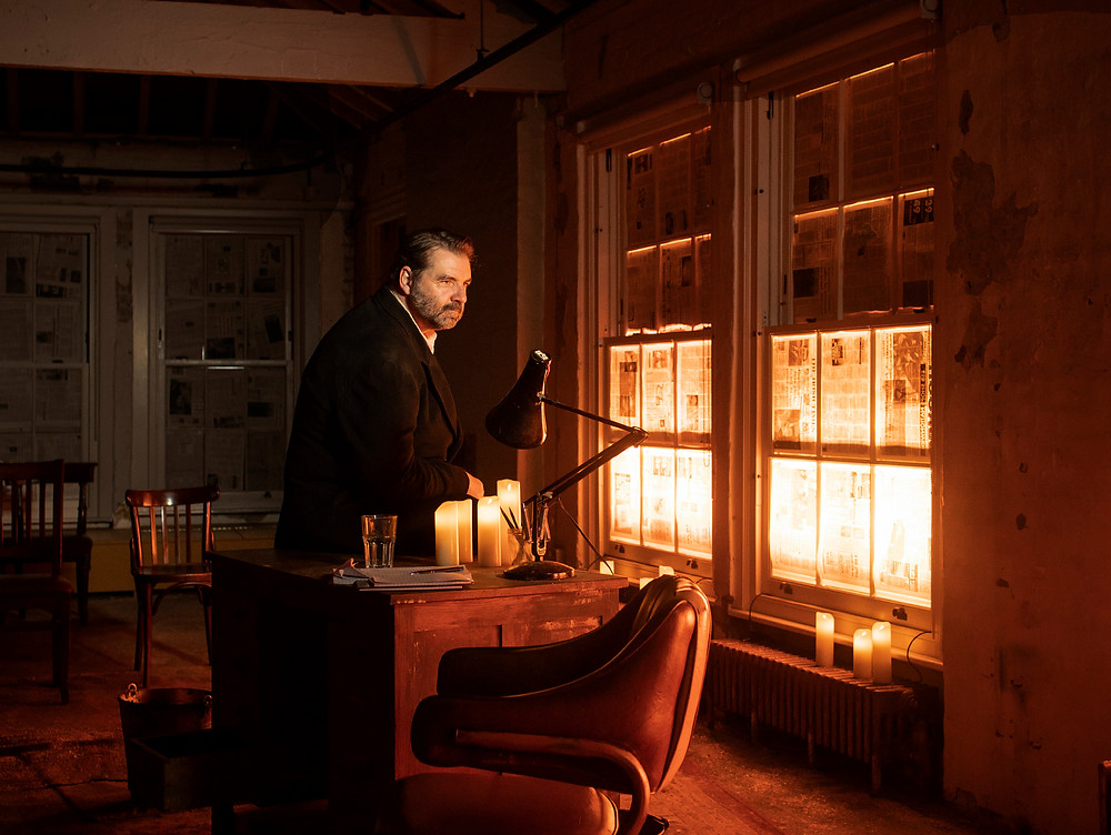 Brendan Coyle in Conor McPherson's St. Nicholas (Donmar Warehouse). Image by Helen Maybanks