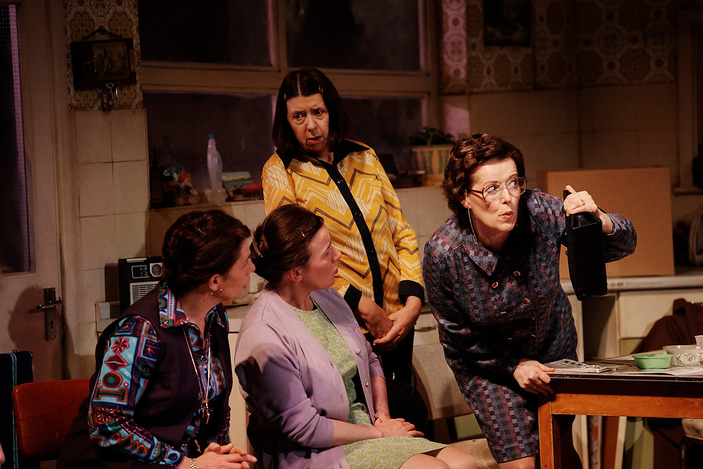 The Unmanageable Sisters, a new version of Michel Tremblay's Les Belles-Soeurs by Deirdre Kinahan. Photo by Ros Kavanagh.