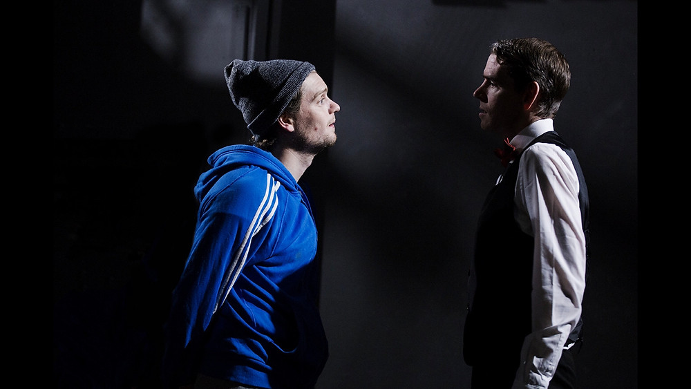 Ethan Dillon and Eoin O'Sullivan in Intercession: Brighton Court. Image uncredited.