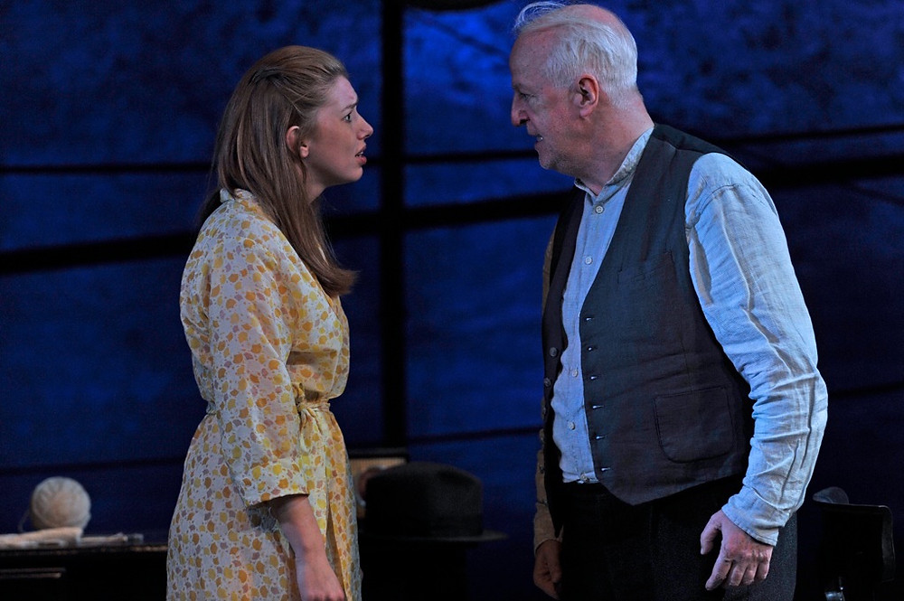 Seana Kerslake and Seán McGinley in King of the Castle. Image by Robbie Jack