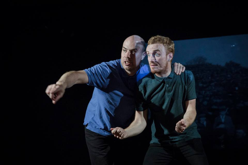 Jed Murray and Eric O'Brien in Sure Thing. Image by Ste Murray