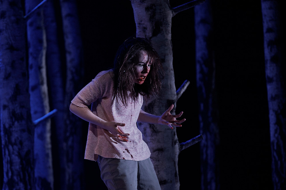 Katie Honan in Let The Right One In. Photo by Ros Kavanagh
