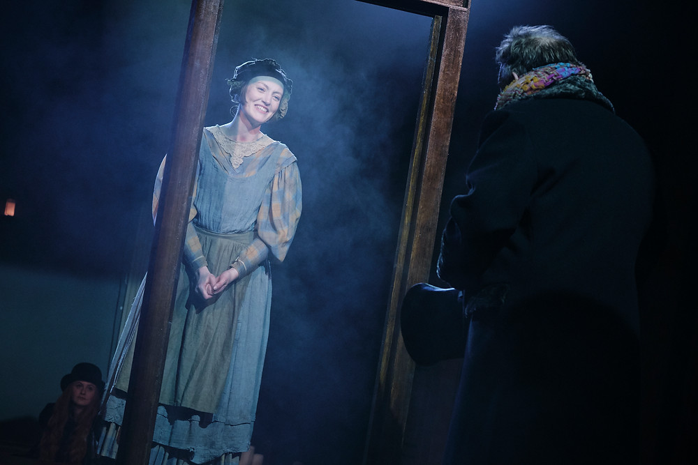 Rachel O'Byrne as Belle in A Christmas Carol by Charles Dickens in a new version by Jack Thorne. Now at the Gate Theatre Dublin until 18 January. Photo by Ros Kavanagh.
