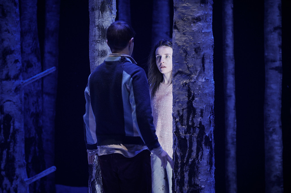 Craig Connolly and Katie Honan in Let The Right One In. Photo by Ros Kavanagh
