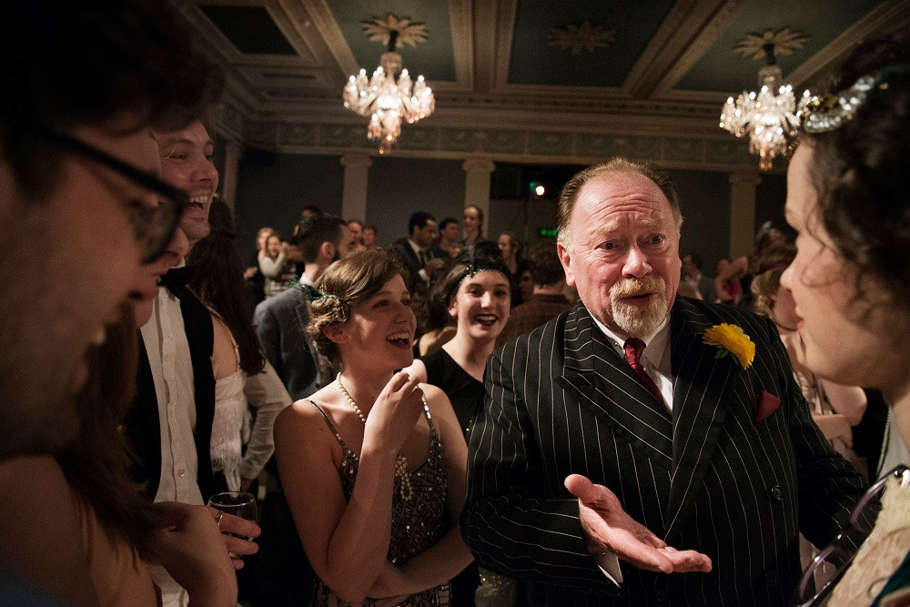 Owen Roe as Wolfsheim in The Great Gatsby. Photo by Agata Stoinska