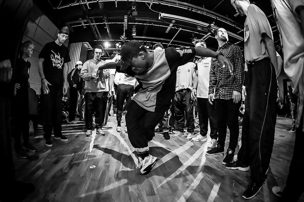 Top 8 Hip-Hop Dance Battle. Photo by scottakoz.com