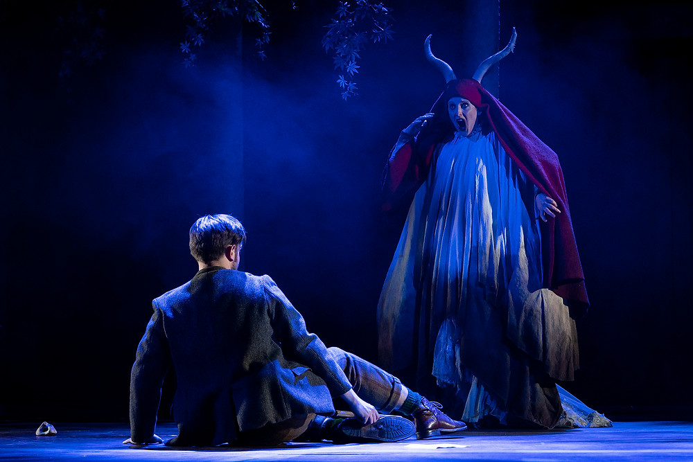 Nicholas Pritchard and Kim Sheehan in The Magic Flute. Photo by Pat Redmond