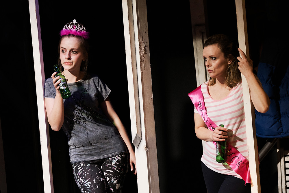Ciara Evie and Denise McCormack in Dublin Will Show You How; an Abbey Theatre and The Complex co-production; image credit Ros Kavanagh