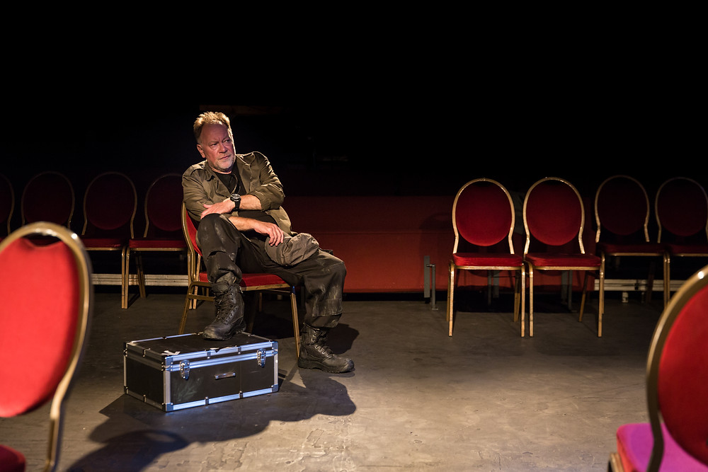 Owen Roe in Hecuba. Image by Ste Murray