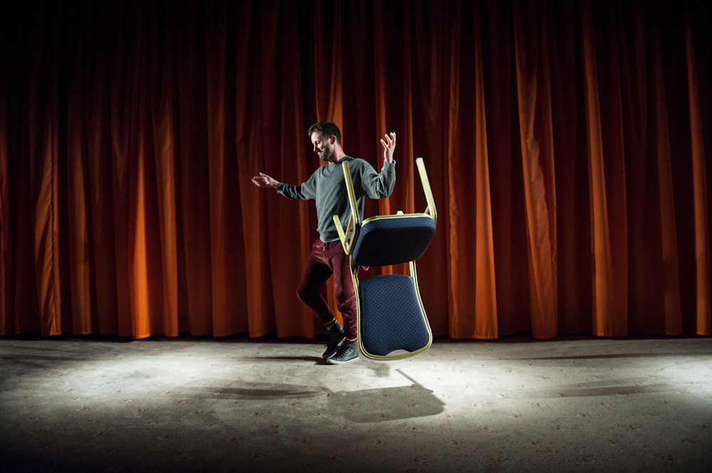 Philip Connaughton in This Is The Funeral Of Your Life. Photo Emilia Krzysztofiak