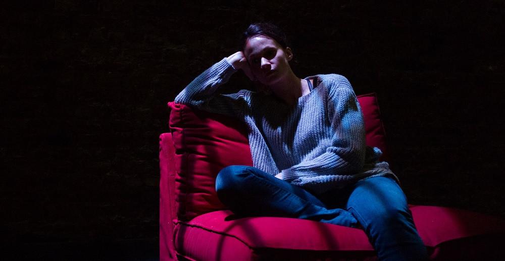 Carolyn Bracken as Breda in Eden. Photo by Pavel Sedlacek