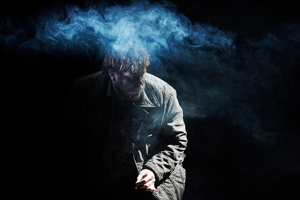 Peter Coonan (Ded Raftery) in On Raftery's Hill on the Abbey Stage, written by Marina Carr and directed by Caitríona McLaughlin.