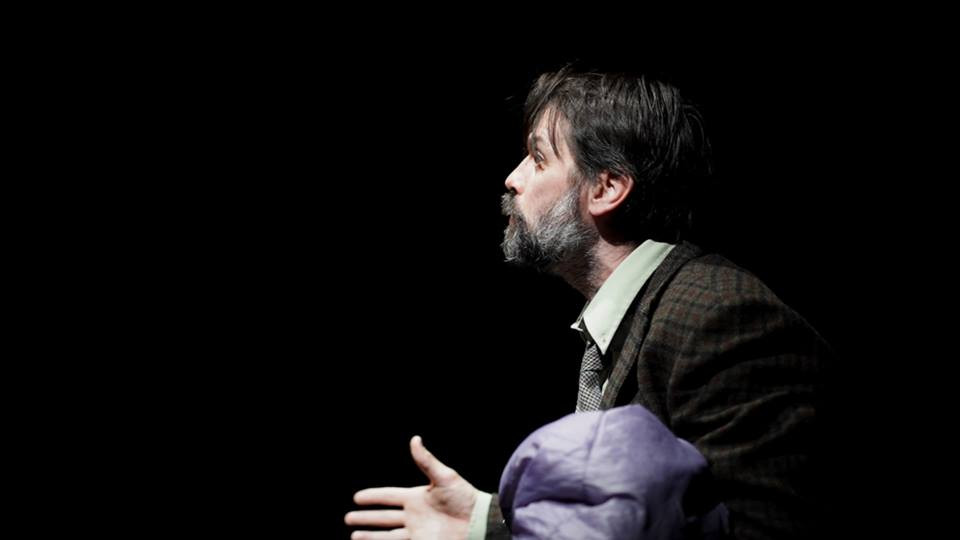 Paddy McEneaney in Hairy Jaysus by Donol O'Kelly. Image by Ruth Gonsalves Moore.
