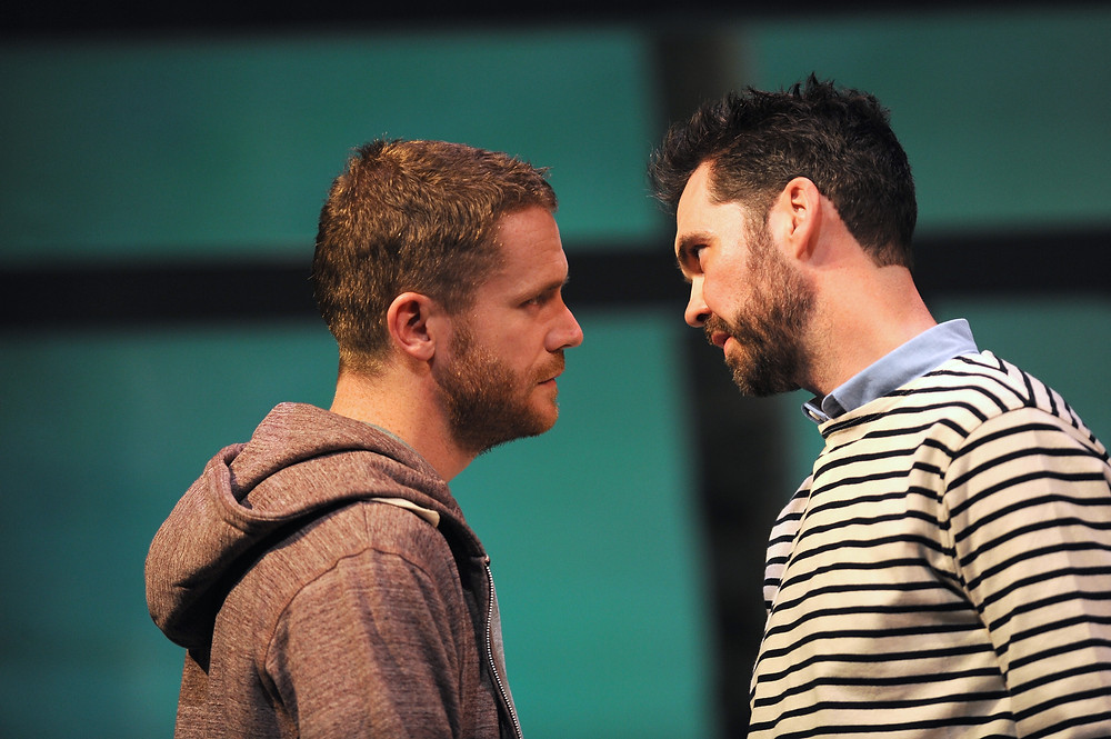 Ian-Lloyd Anderson, Marty Rea. Druid and Gate Theatre. The Beacon. Photo credit, Robbie Jack.