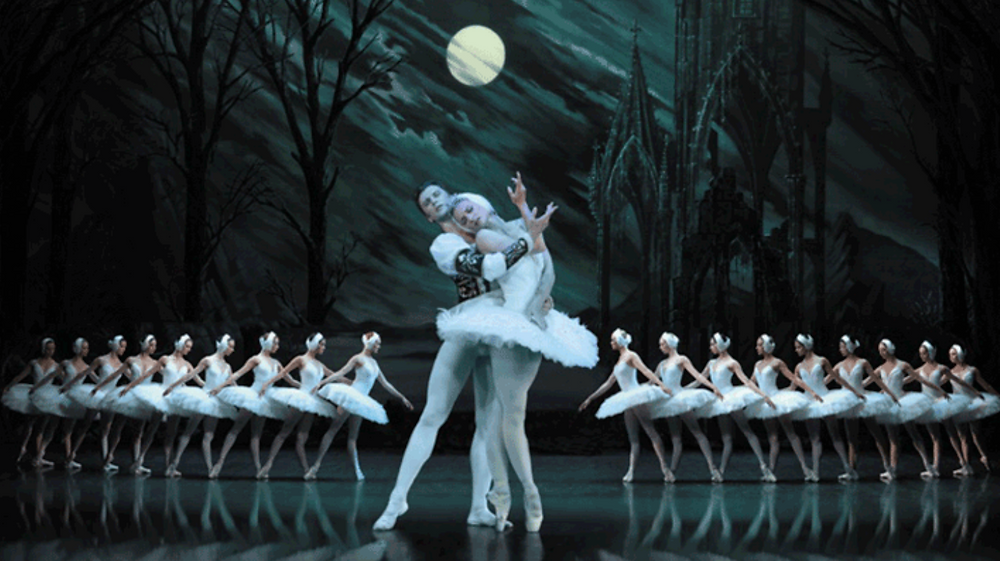 St Petersburg Theatre Ballet presents Tchaikovsky's Swan Lake. Image uncredited.