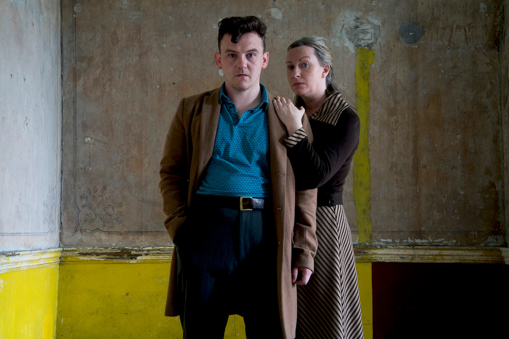 Robbie O'Connor and Gillian McCarthy in Hentown. Photo uncredited