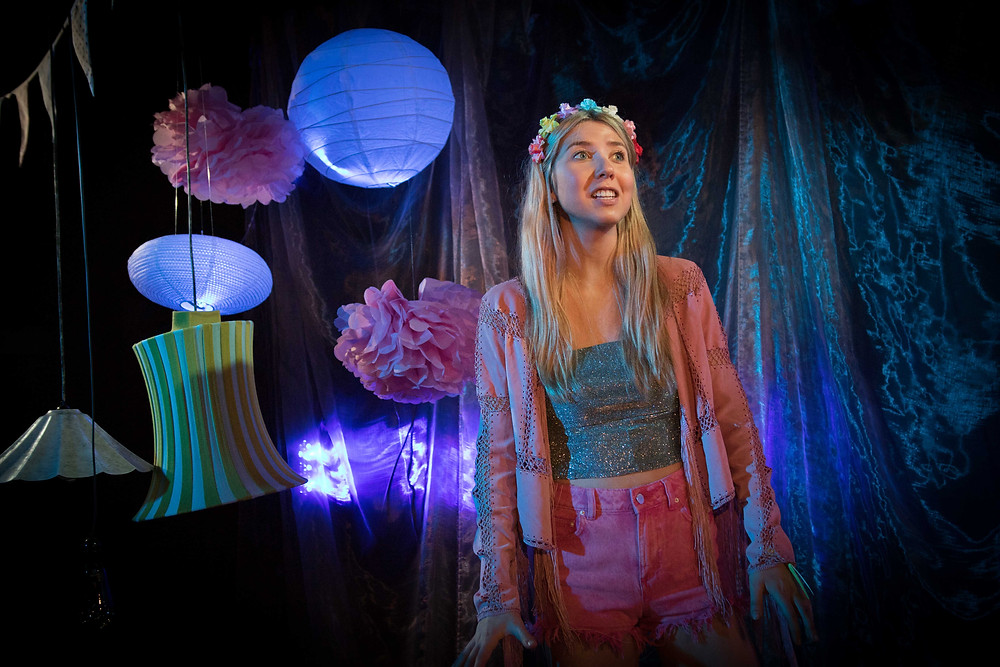 Ali Hardiman as Scarlett in Electric. Photo by Tom Maher.