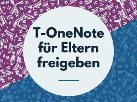 Teams OneNote für Eltern freigeben
