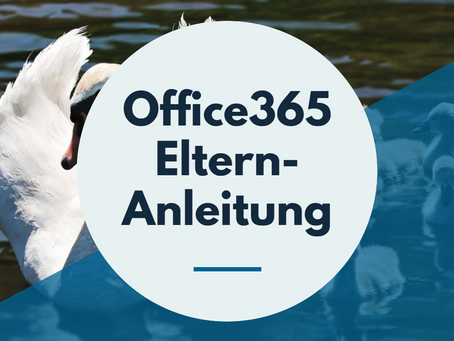 Office365 zu Hause installieren - Elternanleitung