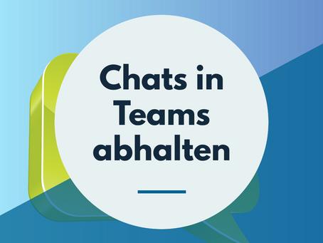Chatten mit Teams