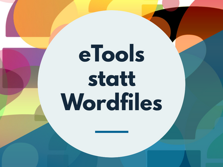 eTools statt Wordfiles