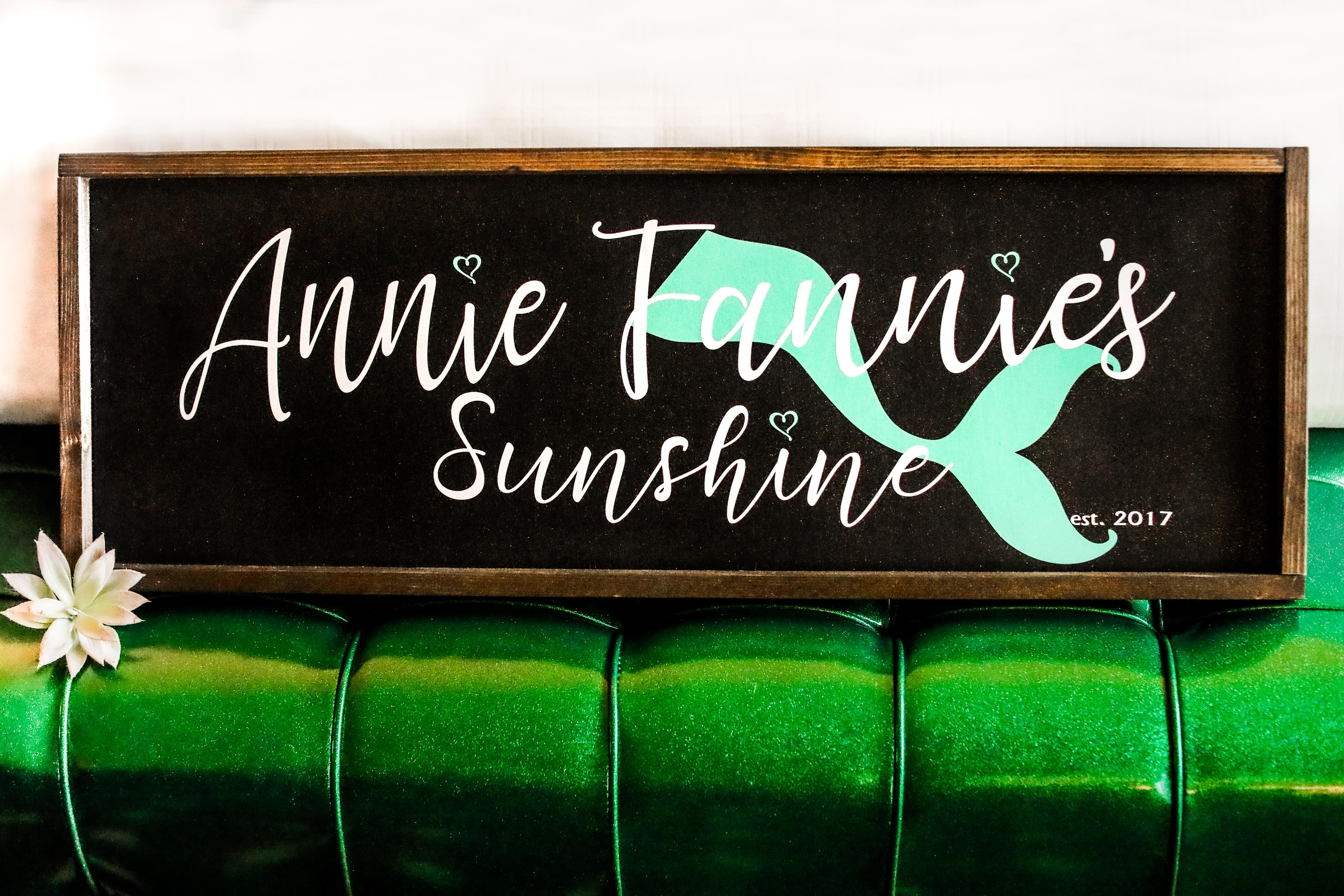 Annie Fannie's Sunshine-941