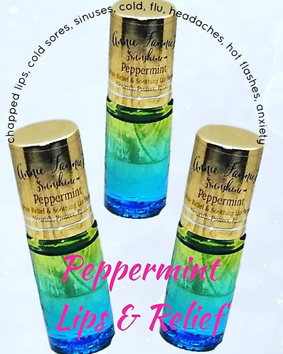 Peppermint Rollers Set of 3