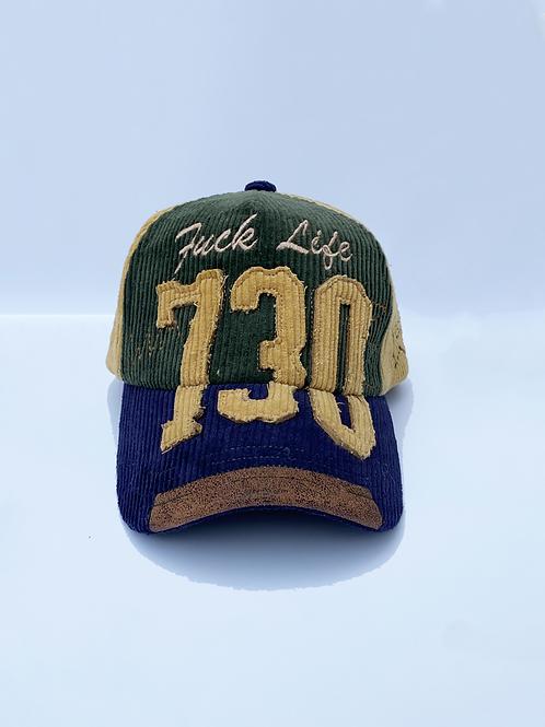 NAVY CAMO FUCK LIFE 730 HAT