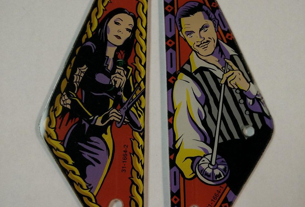 Addams Family Slingshot Plastic Set