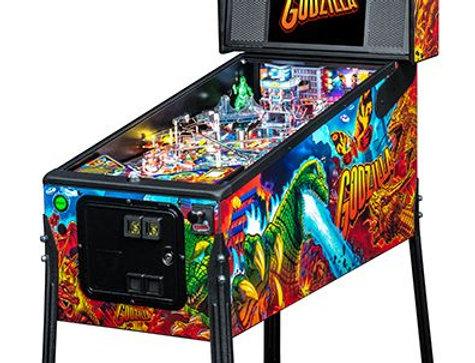 Godzilla Pinball Machine   Premium model