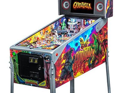 Godzilla Pinball machine   Le model