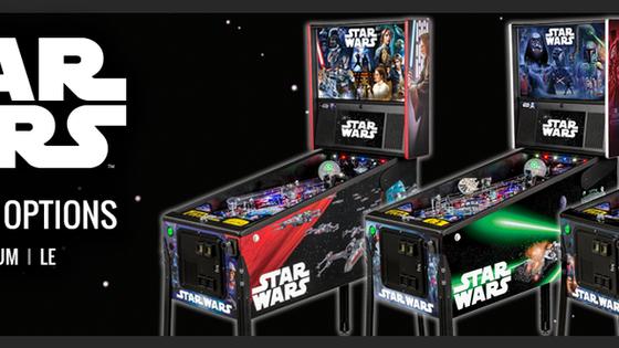 Star Wars Pinball Machine by Stern Pinball